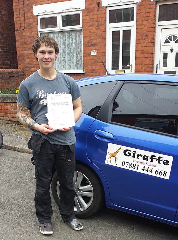 passs your driving test with giraffe driving school