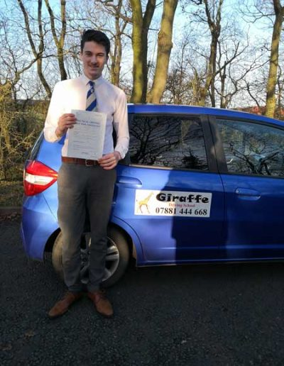 driving lessons dinnington